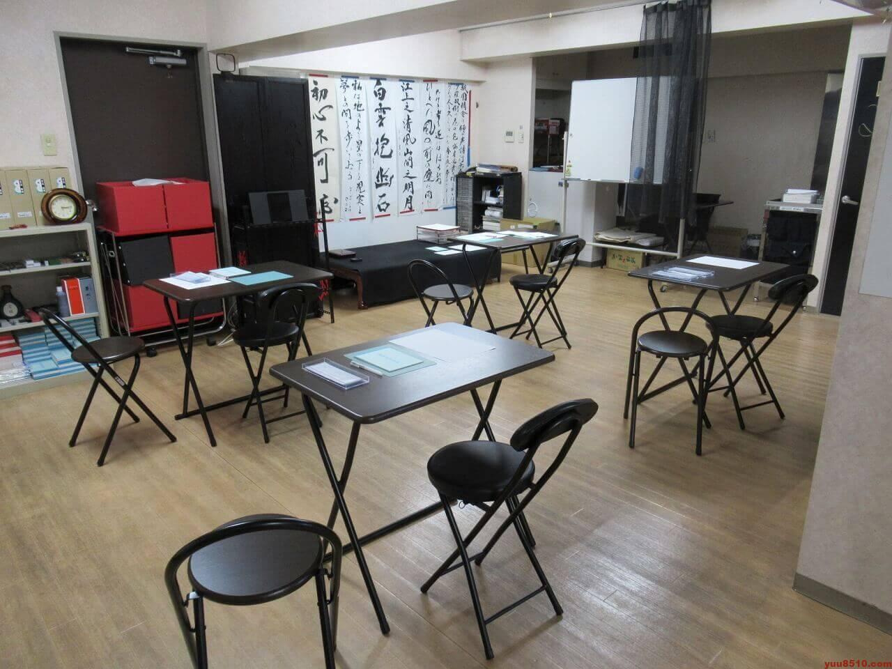 愛知県名古屋市の書道塾「優美舎」の風景