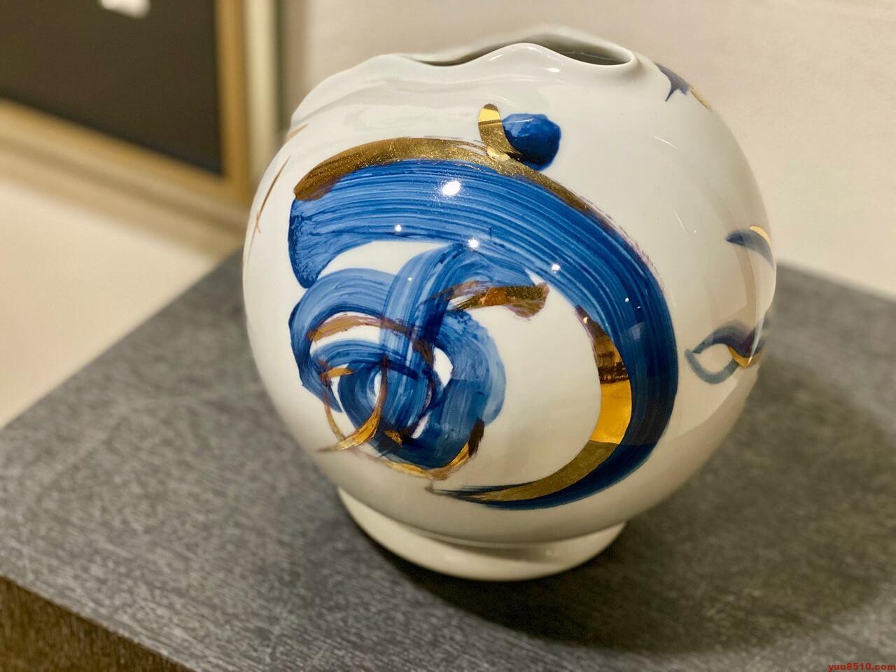 陶器作品「宙」