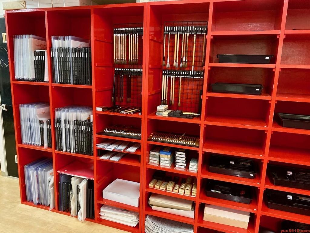 書道塾優美舎の書道道具